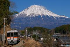 ゆるキャン△ 373系   富士山