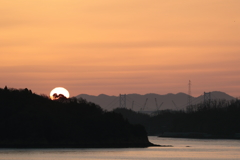瀬戸内の夜明け(1) 180323-895