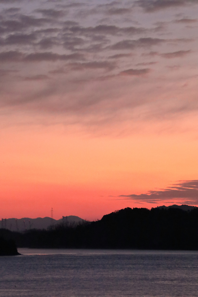 瀬戸内の夜明け(2)  200106-694