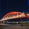 ライトアップ神戸大橋
