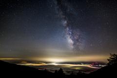 雲の上の天の川