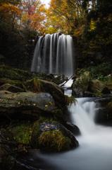 秋の唐沢滝 Ⅰ