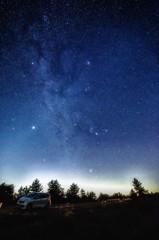 満天の星空を求めて・・・