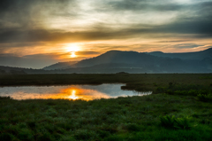 八島湿原の朝 Ⅰ