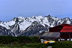 蝶ヶ岳に登ってみた!初夏の雪渓 踏み抜き地獄