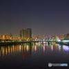 晦日の隅田川