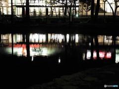 元渕江公園の夜