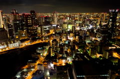 OSAKA CITY NIGHT VIEW