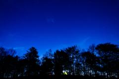夜明け前 薄暮の空