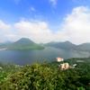 榛名富士と湖