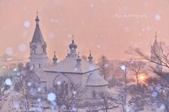 † 雪夜の祈り †