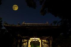 仁王の月見