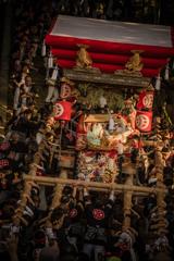 夕映えの宮入~播州秋祭り2018