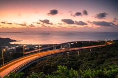 ニライカナイ橋 夜明け前