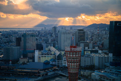 三都物語~神戸夕景