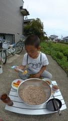 カメラ小僧と蕎麦