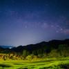 鴨川の大山千枚田と天の川撮影-1