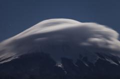 富士三昧424 二十曲の樹氷と笠雲 弾丸③