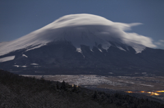 富士三昧423 二十曲の樹氷と笠雲 弾丸2