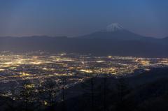 富士三昧312-2 甲府盆地の夜景