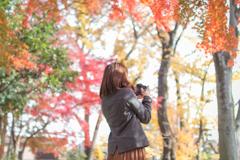 秋とカメラと