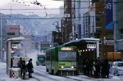ある冬の日の函館