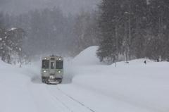 雪の函館本線