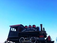 空と機関車