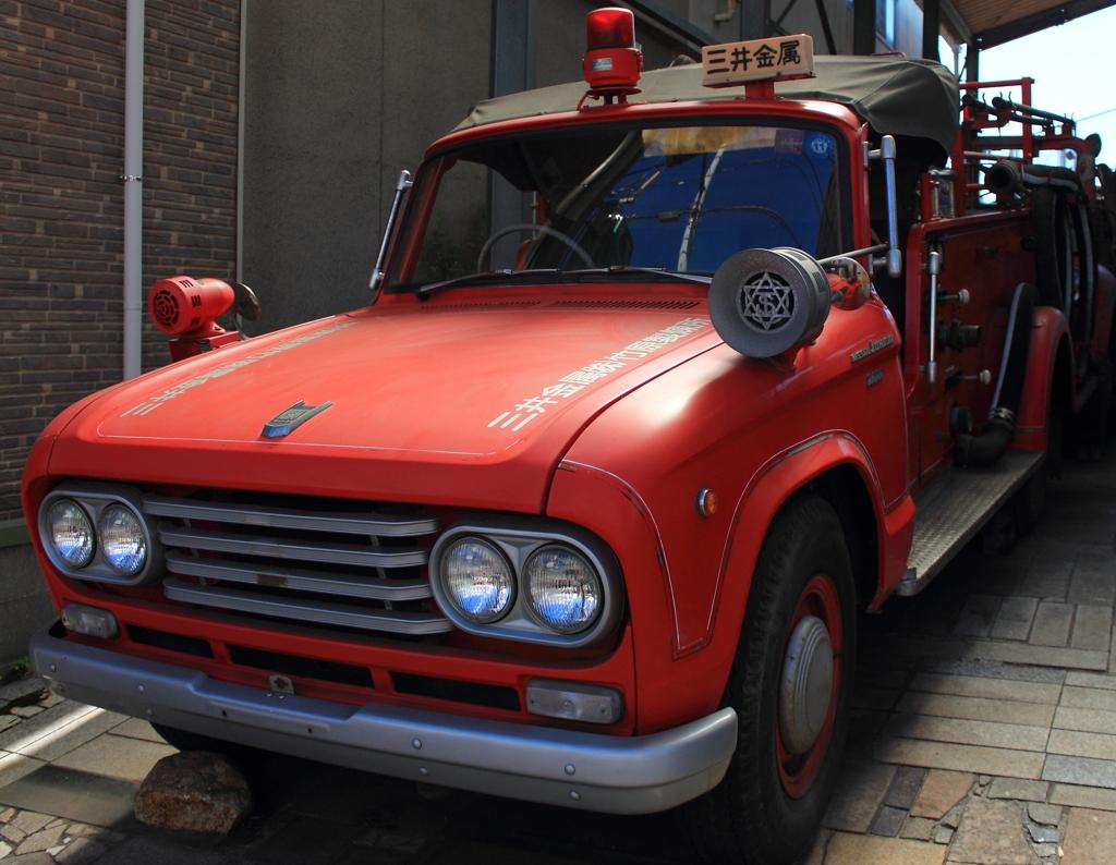 小さな消防自動車