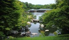 初夏の三景園