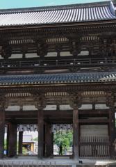 夏の仁和寺