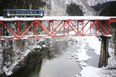 赤い橋トコトコ♪