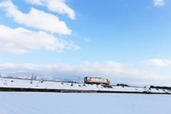 雪原は春に向かう ~秋田内陸線~