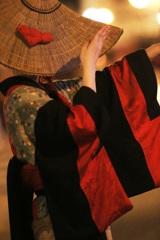 踊り子~編み笠~