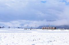 雪国列車がゆく♪♪