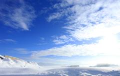 真冬のブルースカイ