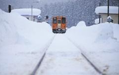 雪国をGO♪~秋田内陸縦貫鉄道~