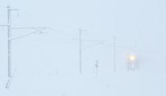 雪国列車がゆく~大雪の日に~