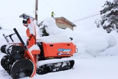 雪国の暮らし~雪下ろし~