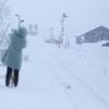 大雪の中を ~秋田内陸線~