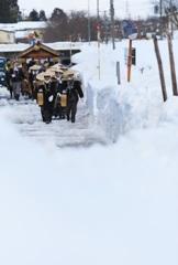 ゆきとぴあ七曲花嫁道中~豪雪をゆく~