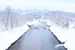 雪国の朝 ~真冬の奥羽本線~