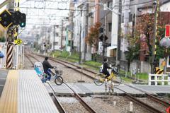 チリンチリ~ン♪ 上井草駅