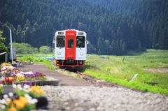 緑の中を~由利高原鉄道~
