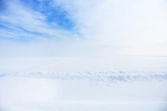 はるかな雪原