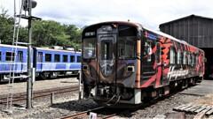 若桜駅のHAYABUSA
