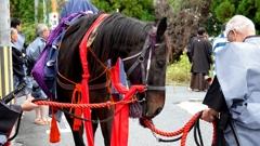土下座まつり(御神幸武器行列)~御馬