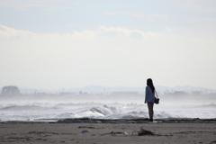 荒れ海の華