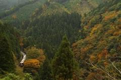 山岳列車(3)-深山をゆく