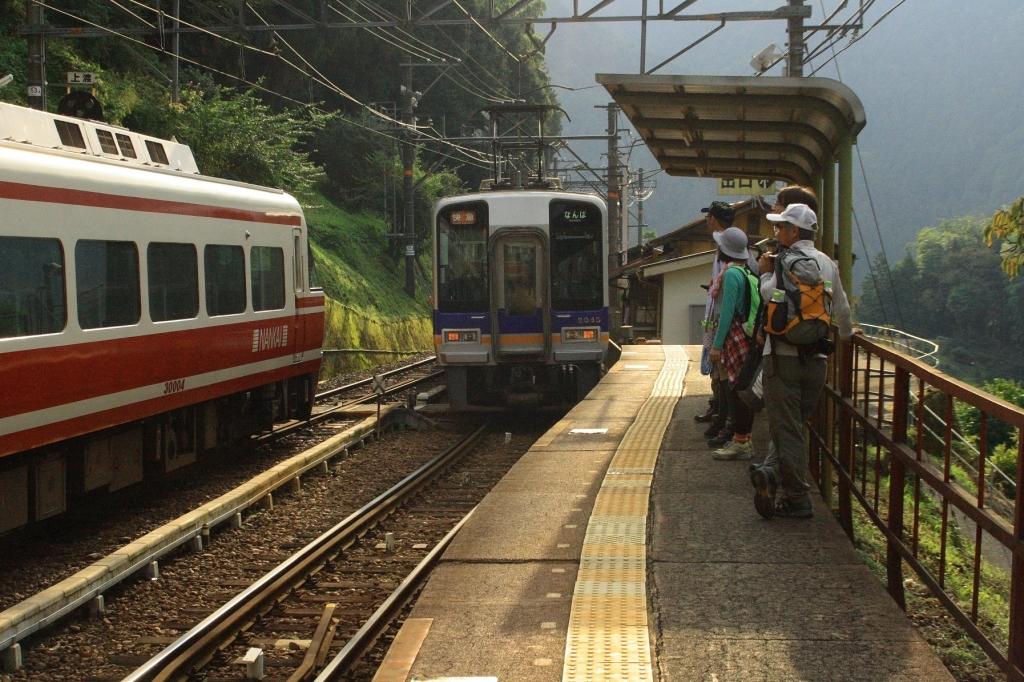 巡礼の道(16) 上古沢駅
